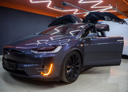 Tesla Model X шумоизоляция