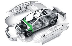 Моторный щит и передние арки малолитражные - оптимальный