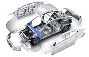 Моторный щит и передние арки малолитражные - максимальный